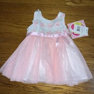 BABY GIRL PETALS TULLE DRESS SIZE 3-6 MONTH